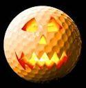 Halloween Golf Ball
