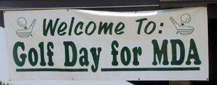 Golf Day Banner