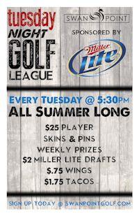 Tuesday Golf League