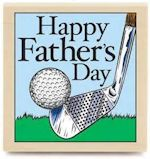 Golf on Fathers Day