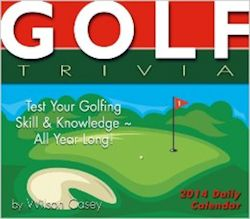 2014 Golf Calendar