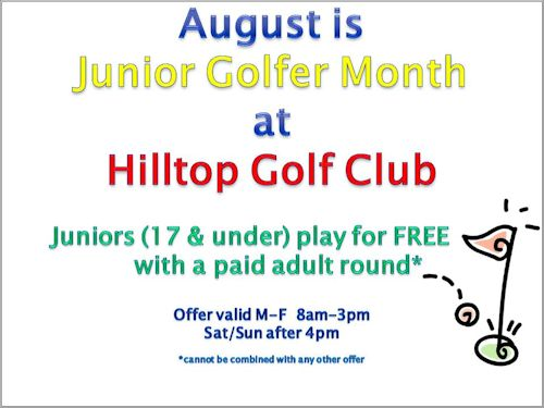 Hilltop Jr. Golf Deal